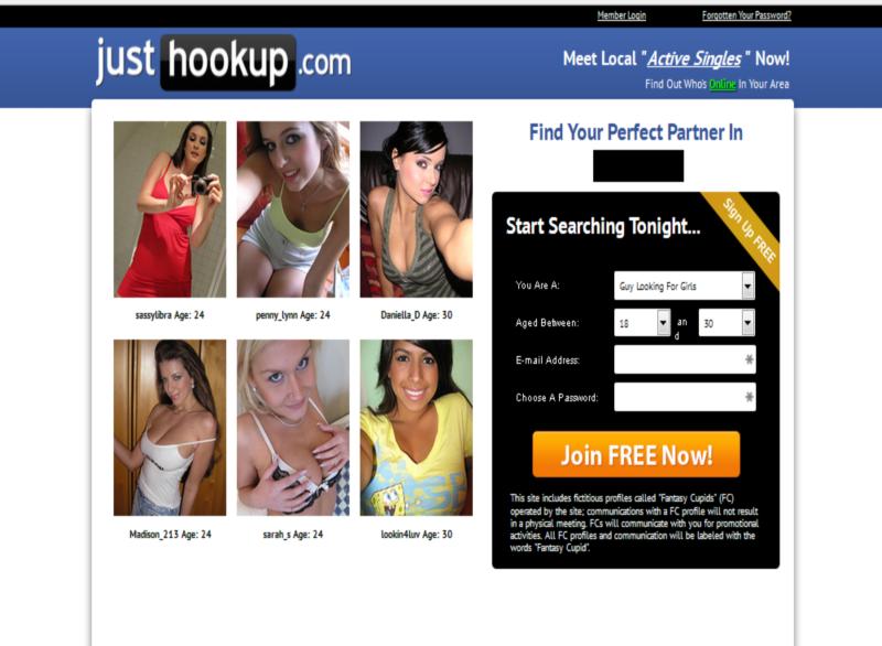 Just Hook Up Homepage1